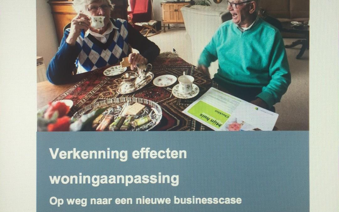 Onderzoek naar de (maatschappelijk) effecten van woningaanpassingen